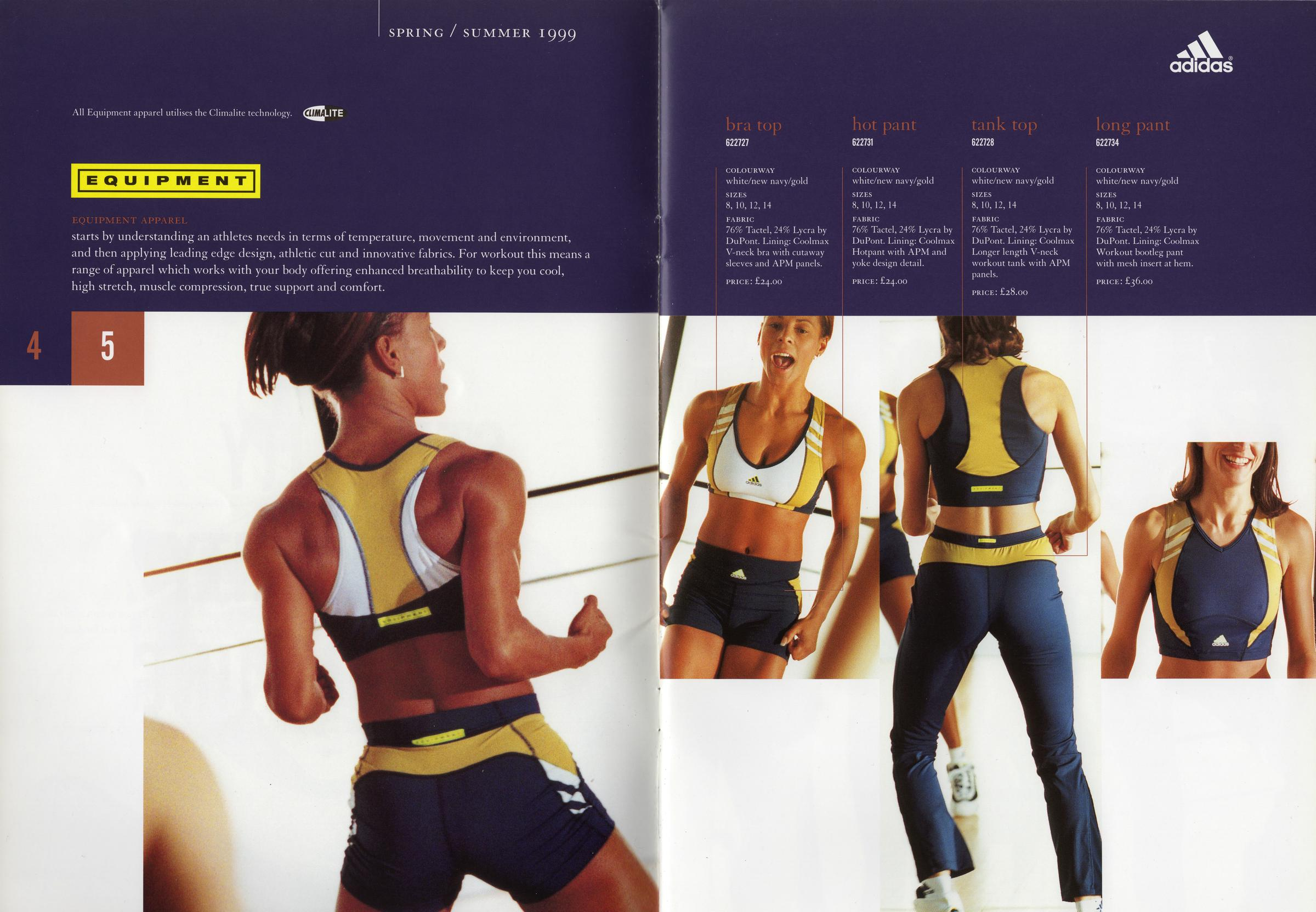Ru-tee Block - Adidas - Instructor Range Magazine - Spring-Summer 1999 - Page 4-5